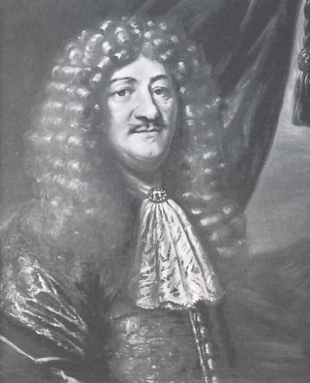 """Finansakrobatar slik dei såg ut på 1600-talet, ikkje ulikt i dag. <a href=""""http://skeel.info/showmedia.php?mediaID=5032&amp;medialinkID=15917"""">(Her er maleri av Henrik Müller med stort krøllete hår)</a>"""