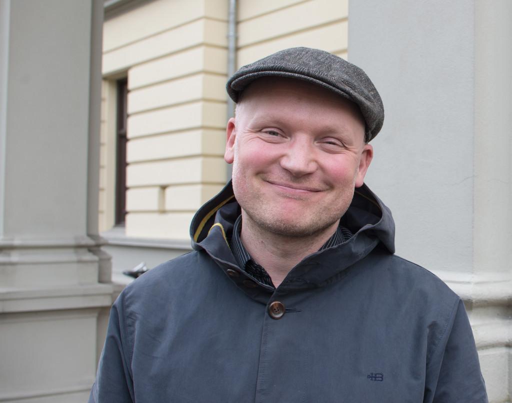 Andreas Tjernshaugen smiler